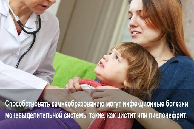 Воспаление мочевых путей у детей