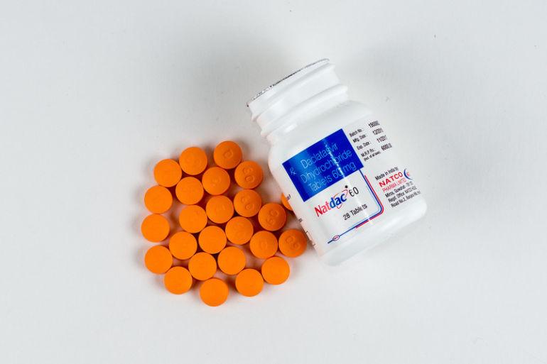 Таблетки Даклатасвир