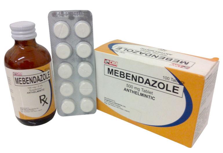 Мебендазол виды