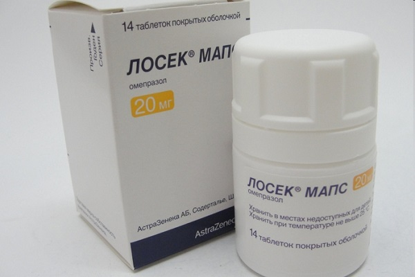 Лосек Мапс таблетки