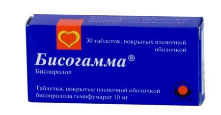 Состав препарата в инструкции по применению «Бисогамма», как действует лекарство на организм