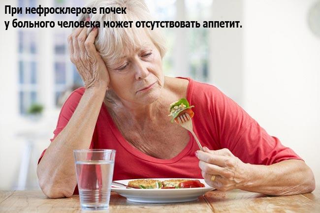 Потеря аппетита и понижение веса