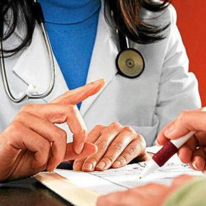 Пальцы врача