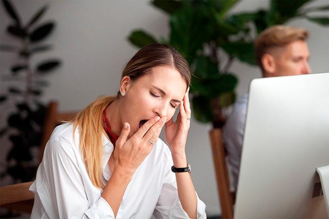 Ощущение разбитости и недосыпа