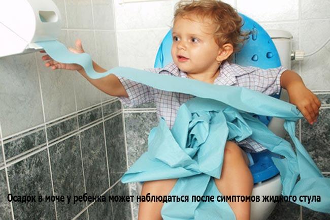 Симптомы жидкого стула у ребенка