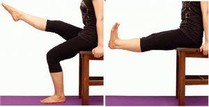 Упражнения при артрозе колена