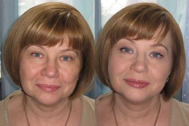 Повседневный макияж для женщины 50 лет