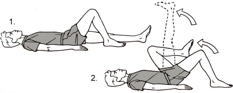 Гимнастика для тазобедренного сустава в домашних условиях комплекс упражнений