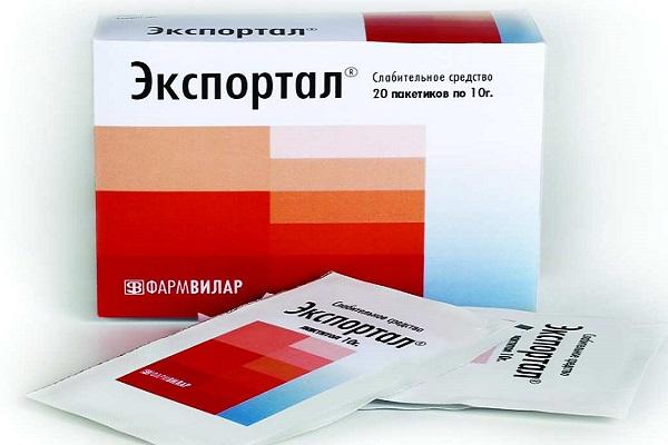 Экспортал пакетики