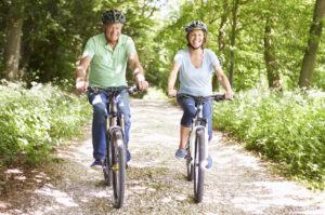 Прогулки на велосипеде лучшая профилактика