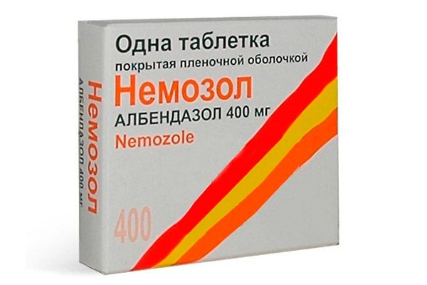Немозол таблетки