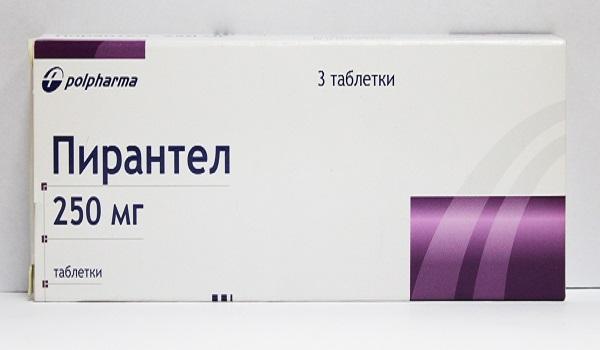 Пирантел таблетки