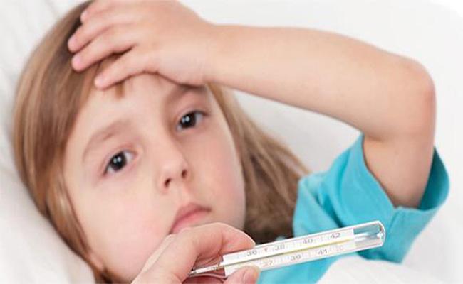 Повышение температуры у детей