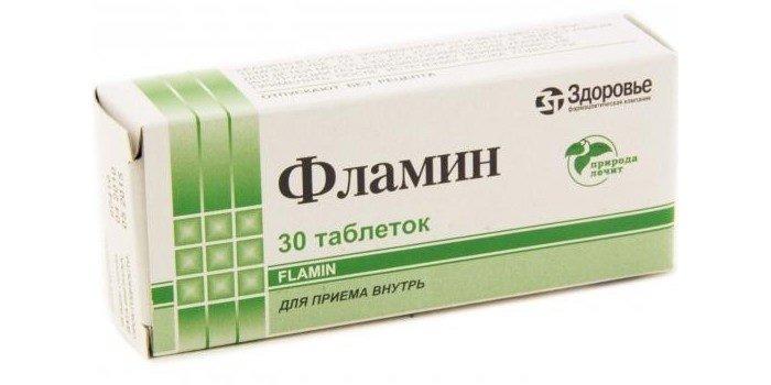 Препарат Фламин 30 таблеток