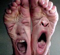 Кожные заболевания на ногах