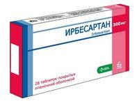 Инструкция по применению препарата Ирбесартан