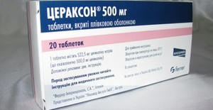 Прочтите инструкцию по применению препарата Цераксон.