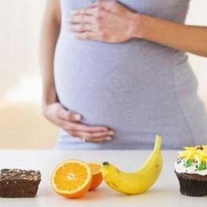 Беременная и фрукты