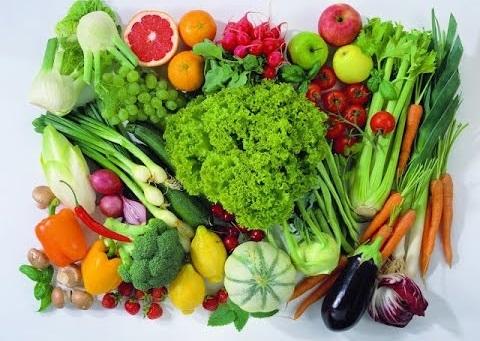 Овощи, фрукты и зелень