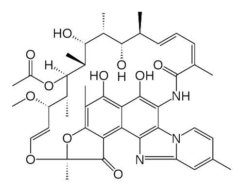 Рифаксимин формула