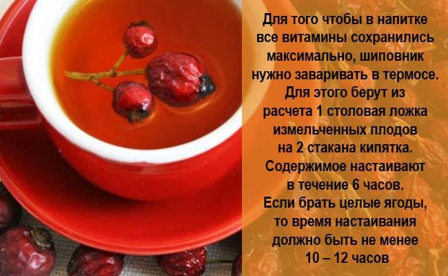 Рецепт из шиповника