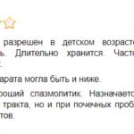 Отзыв врача о препарате Бускопан