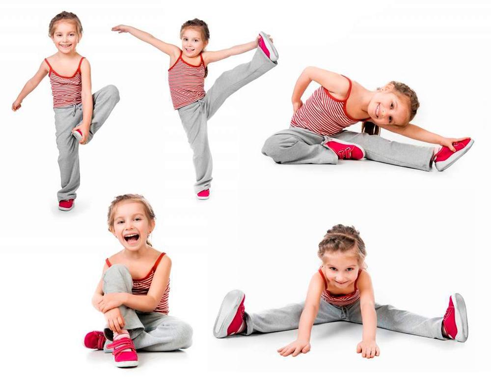 6 комплексов упражнений для лечения нарушения осанки у детей. Правильная зарядка.