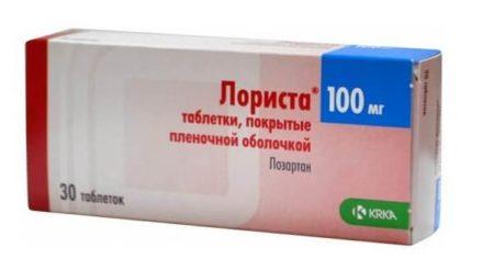 Инструкция по применению Лористы: при каком давлении и как принимать препарат
