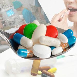 Ложка таблеток