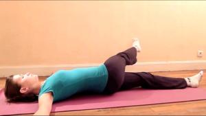 Лежачий комплекс упражнений