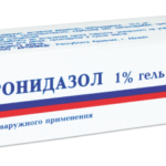 Метронидазол для наружного применения