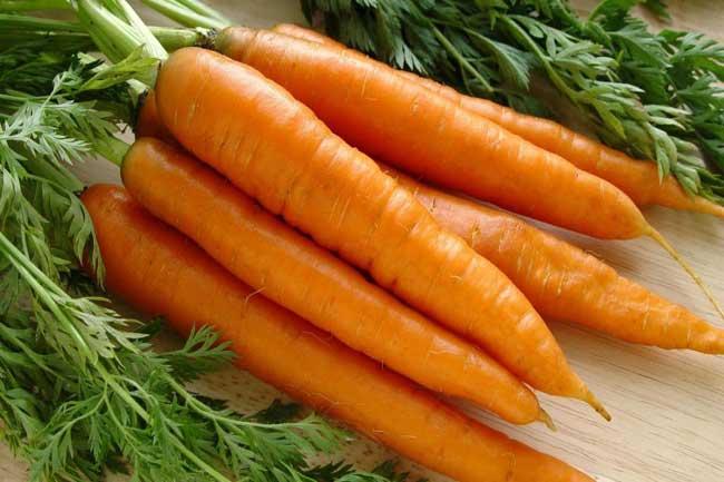Покраснение мочи после моркови