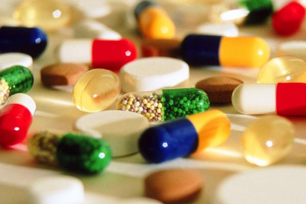 Разноцветные лекарства