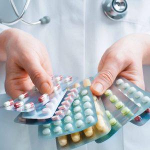 Несколько видов таблеток