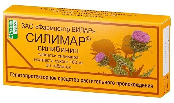 Силимар таблетки