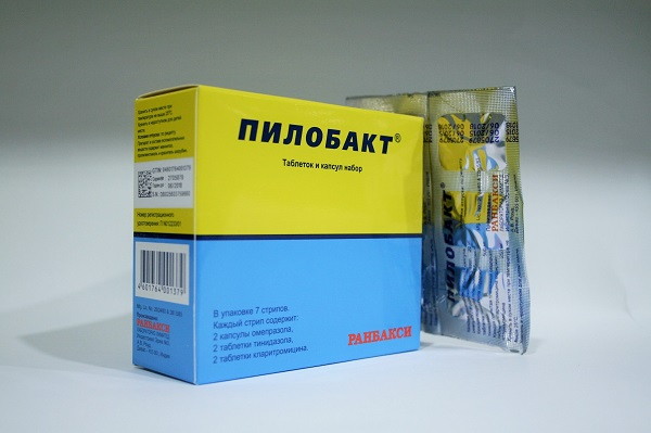 Пилобакт набор таблеток и капсул