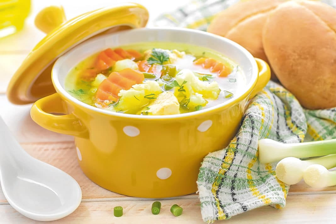Супы при язве