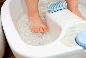 Ванночки для лечения вальгусной стопы