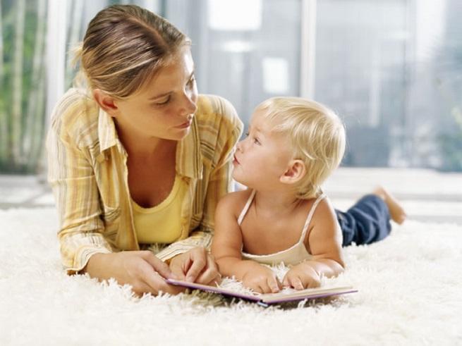 Совместное времяпровождение малыша с мамой важно!