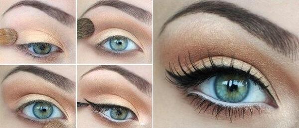 Третий вариант макияжа