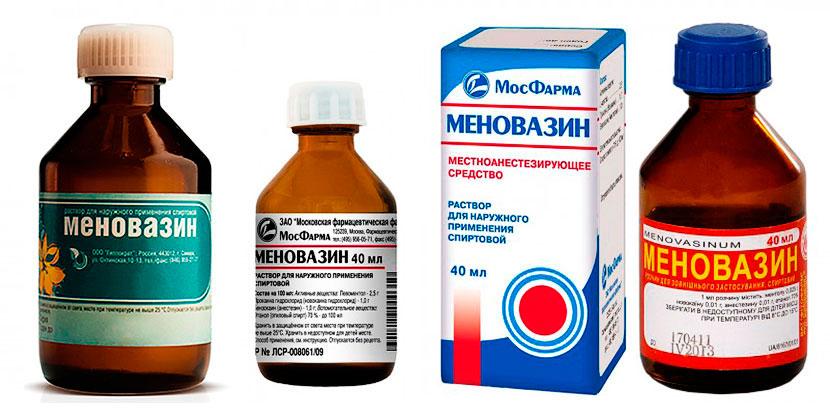 3 противопоказания меновазина при шейном остеохондрозе как применять?