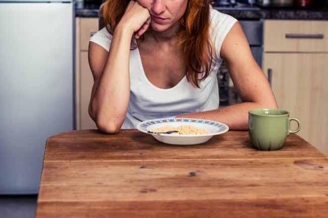 Снижение аппетита и веса