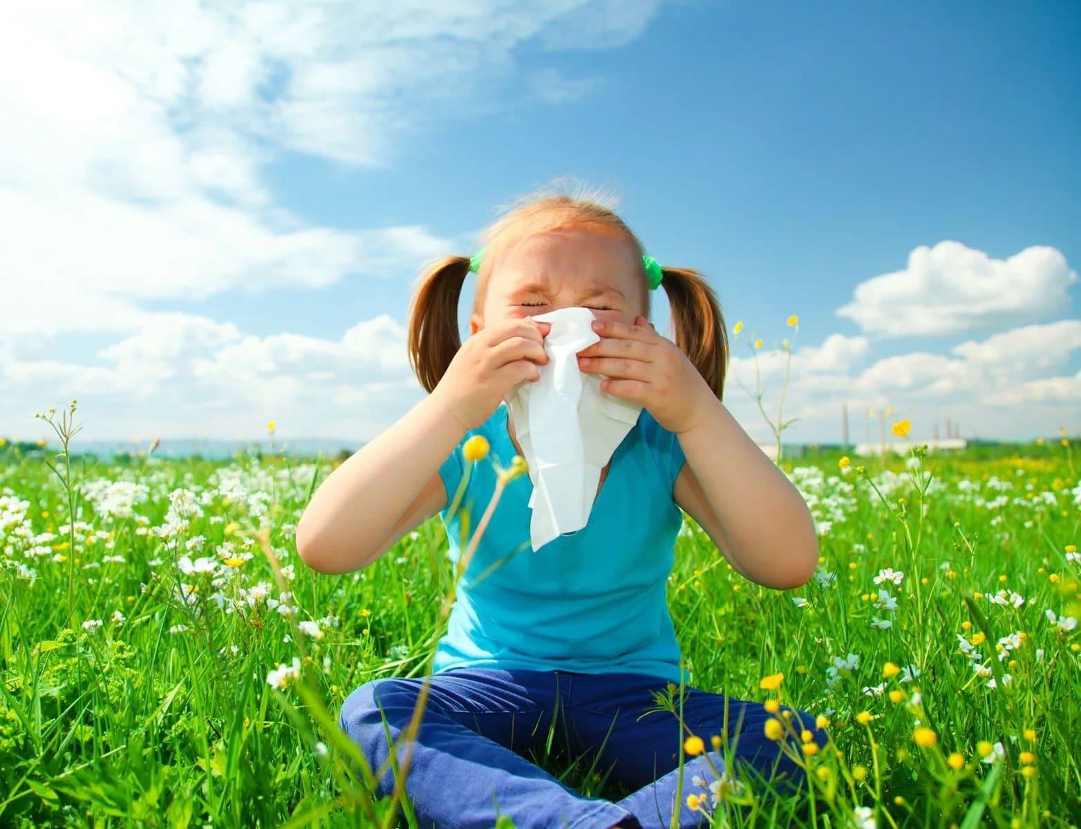 Виды аллергии у детей на коже