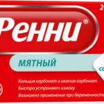 Ренни мятный таблетки