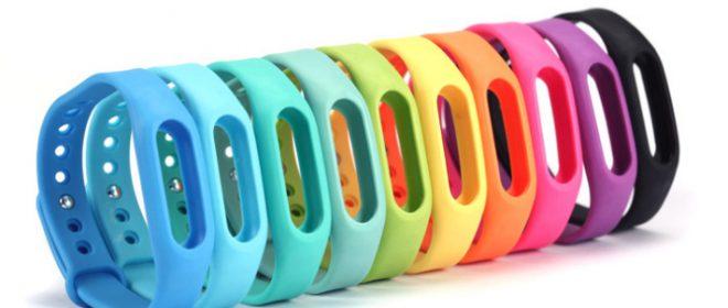 Цветовая гамма фитнес-браслетов