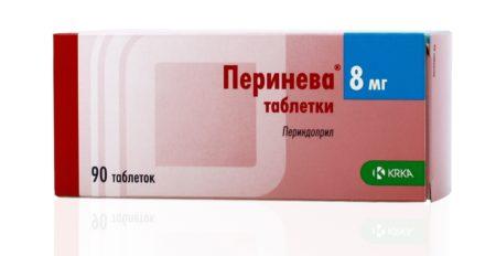 Инструкция по применению Периневы, при каком давлении необходимо принимать, фармакодинамика, фармакокинетика и побочные действия