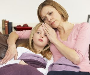 Температура у ребенка - верный признак болезни