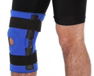 Бандажи для коленного сустава из натуральной шерсти
