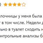 Метронизадол отзыв с форума