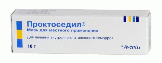 Препарат Проктоседил